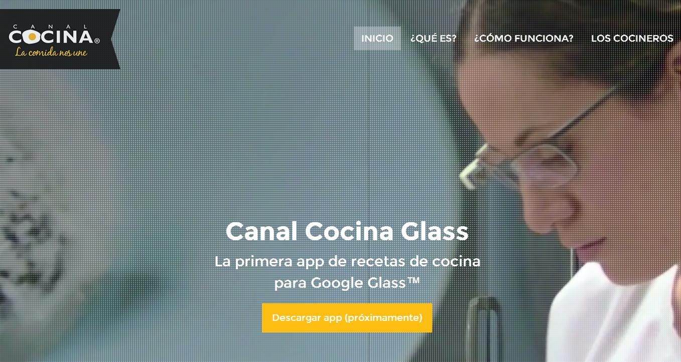 Crea y aprende con laura cocinando con las google glass for Canal cocina en directo