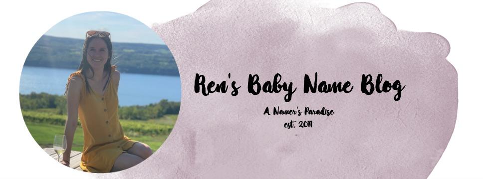 Ren's Baby Name Blog