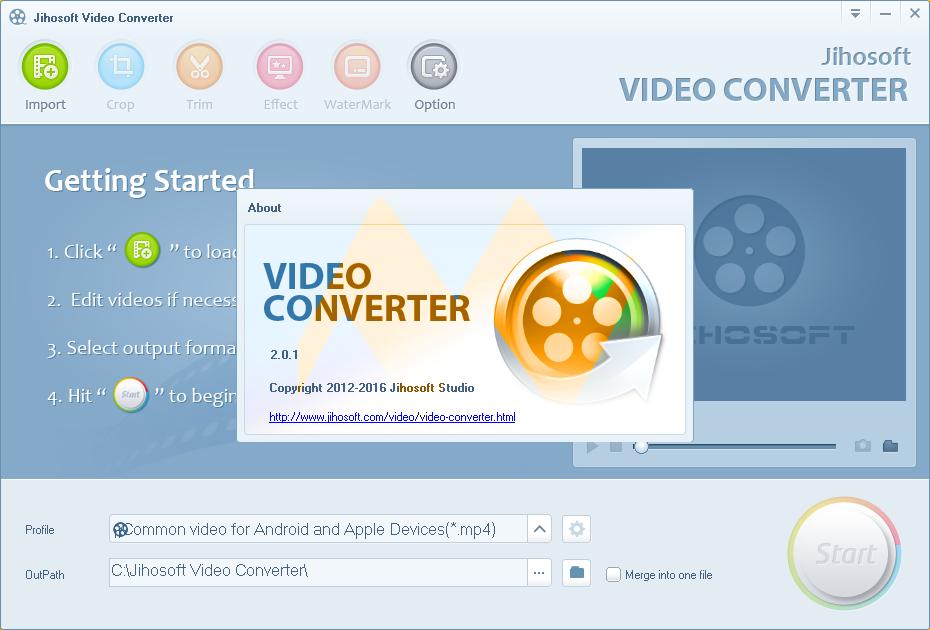 Jihosoft Video Converter 2