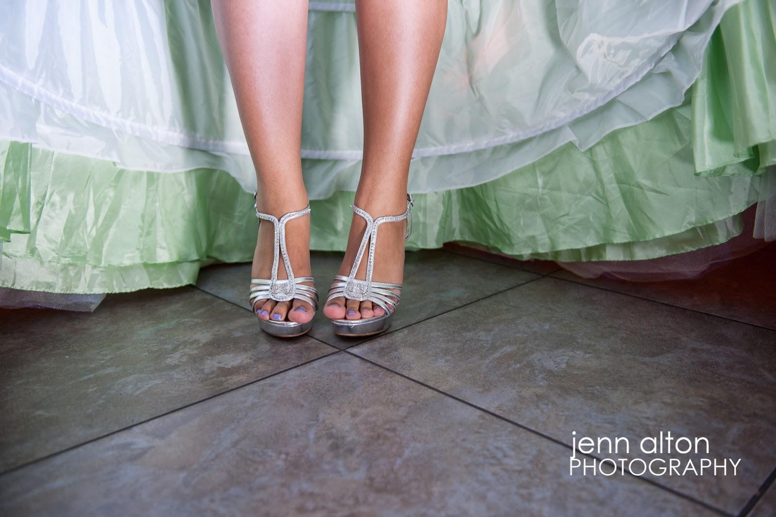 Lindos zapatos de 15 años