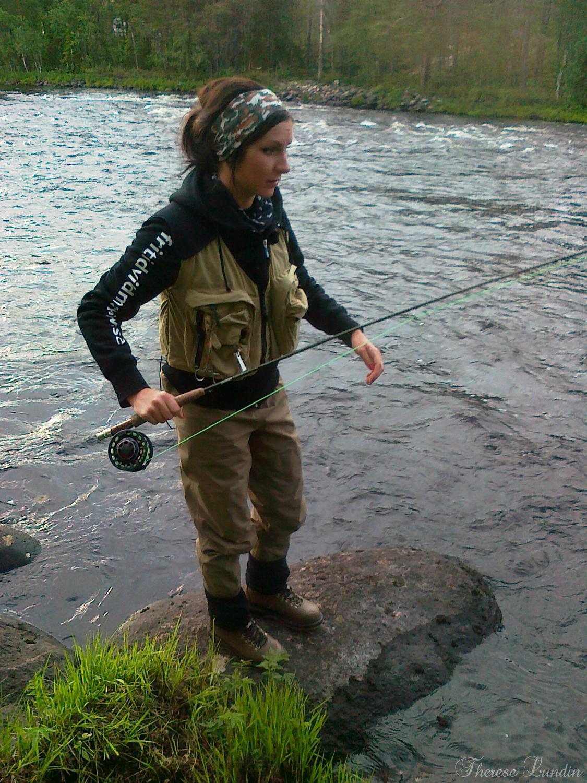 Therese Lundin - Flugfiske