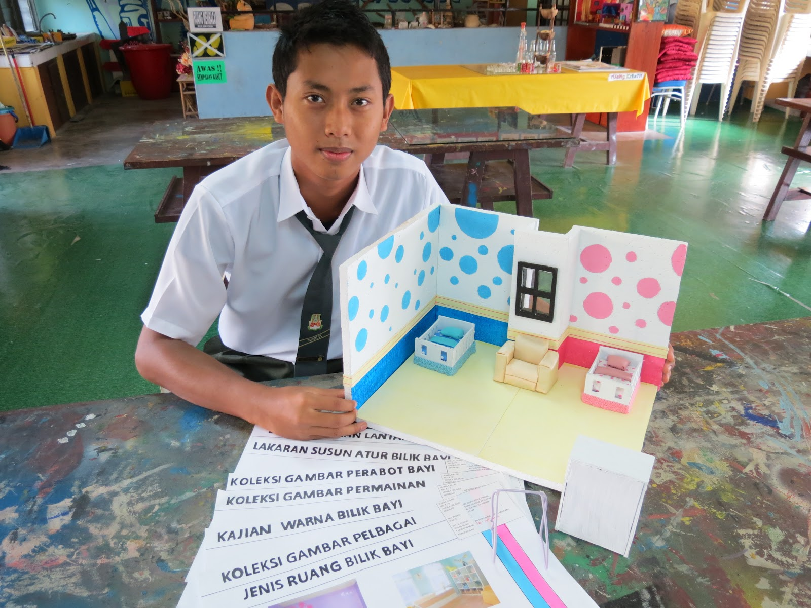 Aktiviti Menghasilkan Artifak Kajian Rekaan Seni Visual SPM 2012