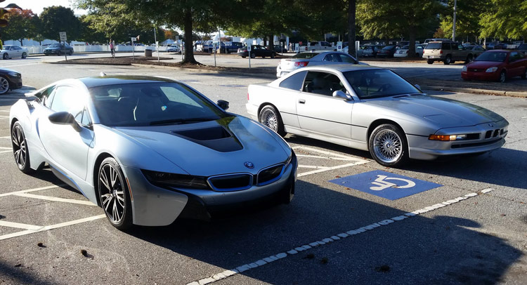 Bmw I8 Meets 850ci Two Very Different 8s Which One Would