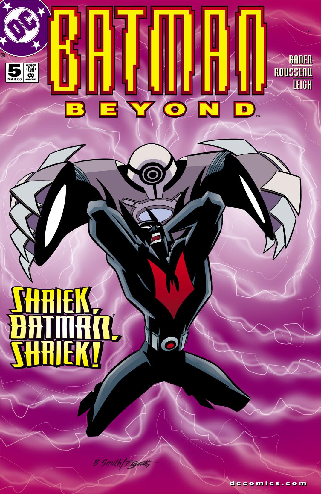 Batman Beyond [II] Issue #5 #5 - English 1