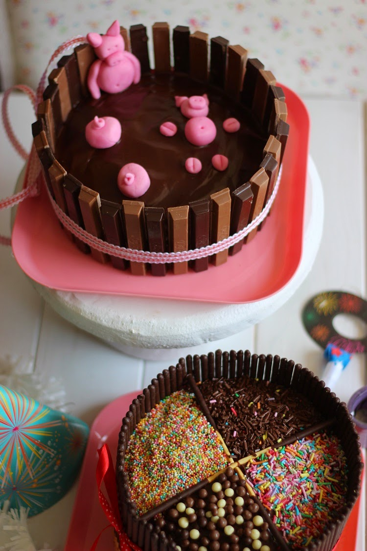 Decoraciones fciles de pasteles el blog de Ana H
