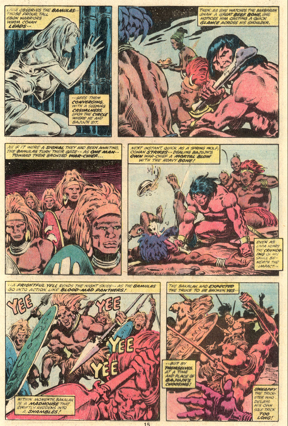 Conan the Barbarian (1970) Issue #104 #116 - English 10