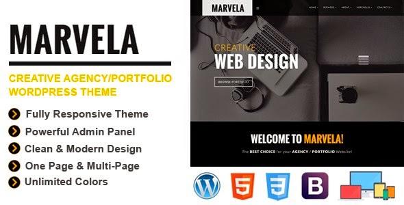 MARVELA | Agency, Portfolio Multi-Purpose WP Theme