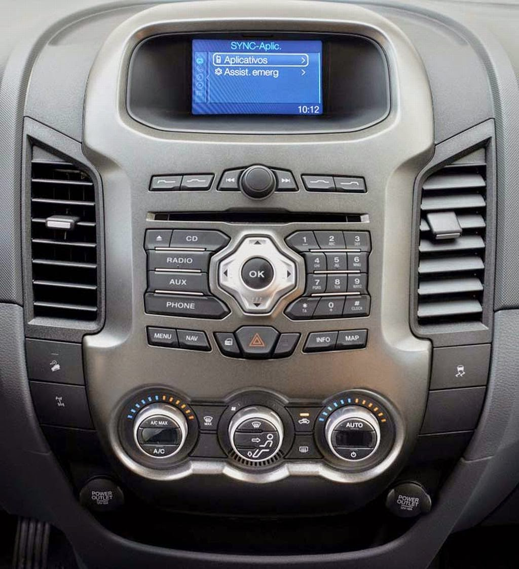 Ford Ranger 2015 More Technology With on tunein radio