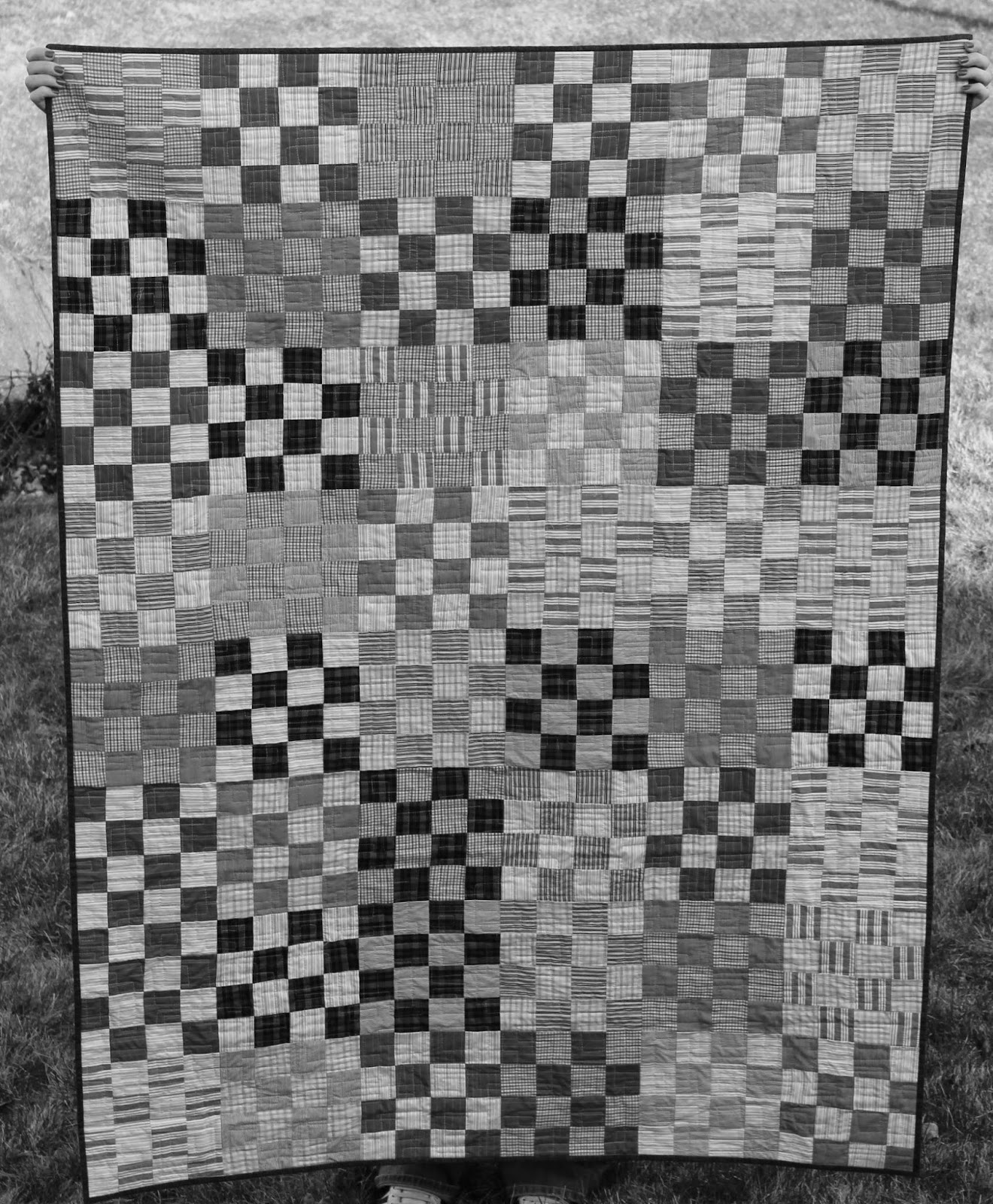 Black & White Quilt Picture
