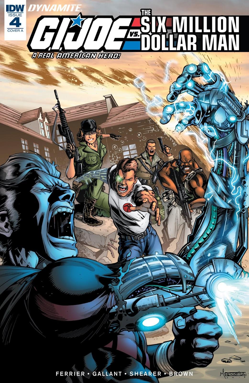 G.I. Joe: A Real American Hero vs. the Six Million Dollar Man  issue 4 - Page 1