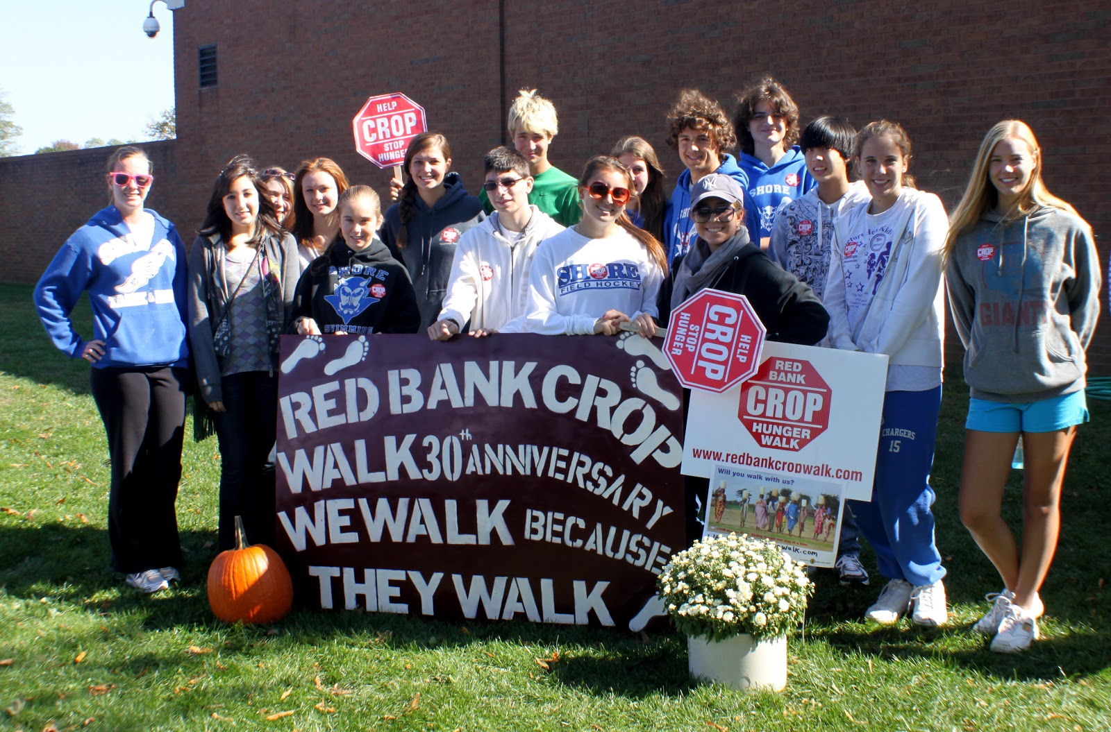 Conners sales group red hat project - Last Year Red Bank Regional High School S Key Club Joined In Our Efforts To Make Our Walk Day A Fun Family Multi Generational Day Of Community Service By