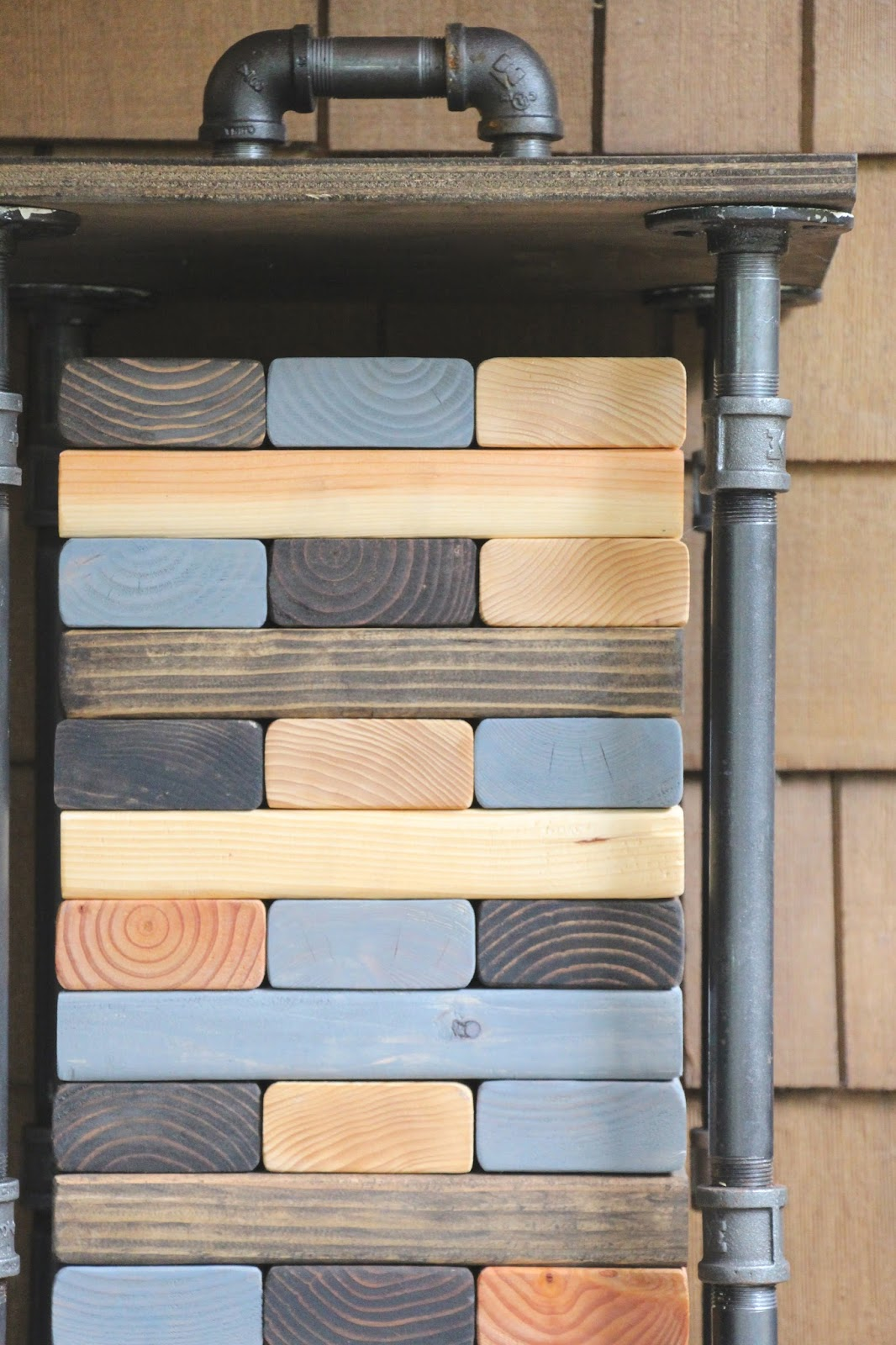 Merveilleux My Sweet Savannah: ~giant Jenga Diy With Industrial Storage~{thrifty  Thursday}