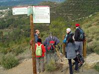 Davant el mirador de la Serra de Vallhonesta