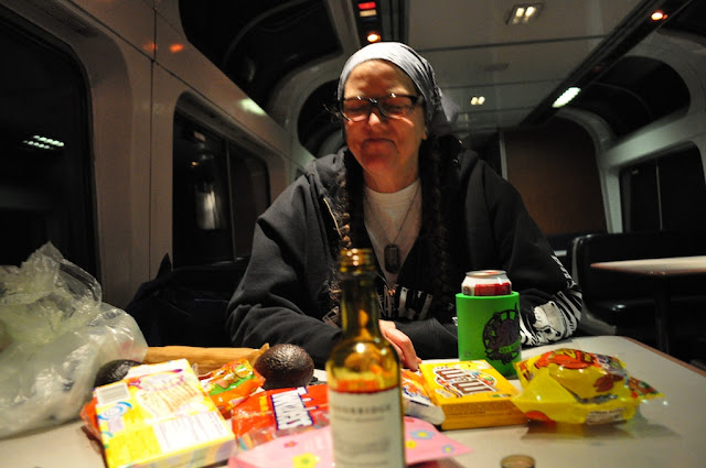 California zephyr amtrak train ride journey united states food