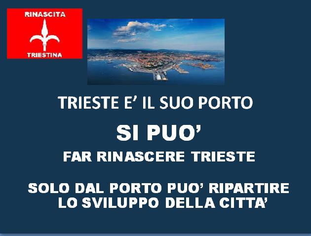 IL NOSTRO PROGRAMMA PER LA RINASCITA DI TRIESTE - clicca sull' immagine.