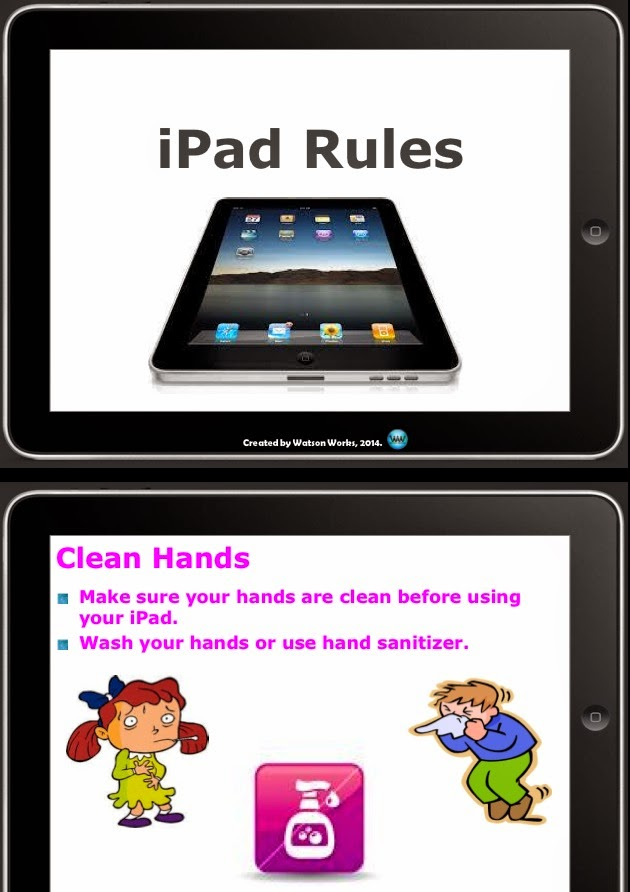 http://www.teacherspayteachers.com/Product/iPad-Rules-for-Elementary-PowerPoint-Presentation-1222396