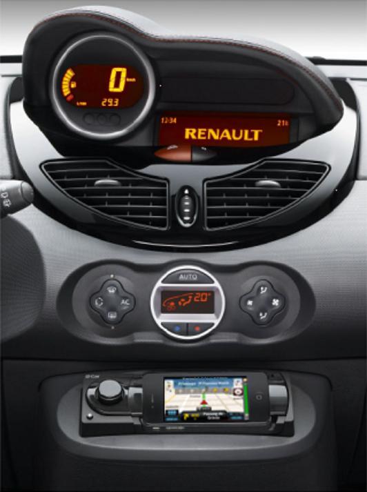 Renault choisit CoPilot Live pour la navigation de la Twingo