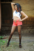 Akshida Hot Photos from Yuddam Movie Song shooting spot-thumbnail-8