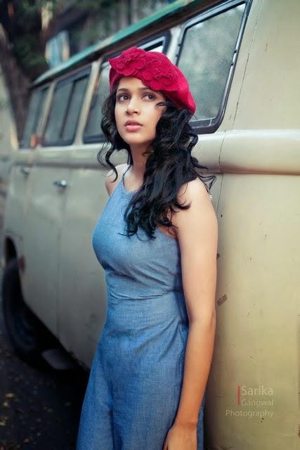 Bramman Heroine Lavanya Tripathi's Unseen Photoshoot