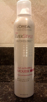 L'Oreal EverStyle Curl Activating Mousse Alcohol Free