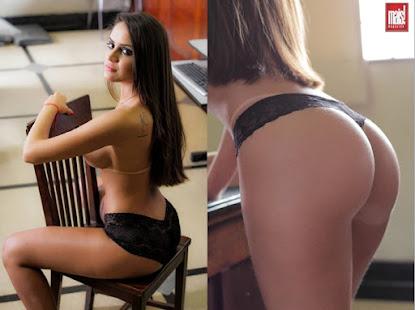 Modelo Rafaela Dias exibe bumbum perfeito e arranca elogios de fãs