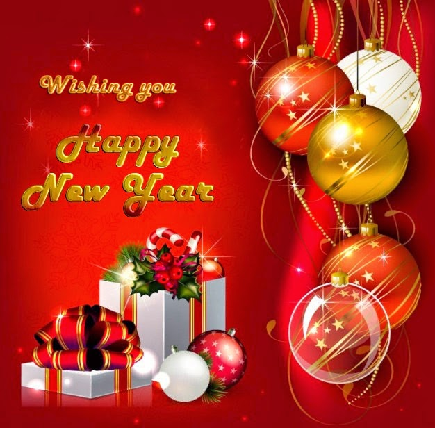 Beautiful Happy New Year Wishes 2015 Greeting Card Images