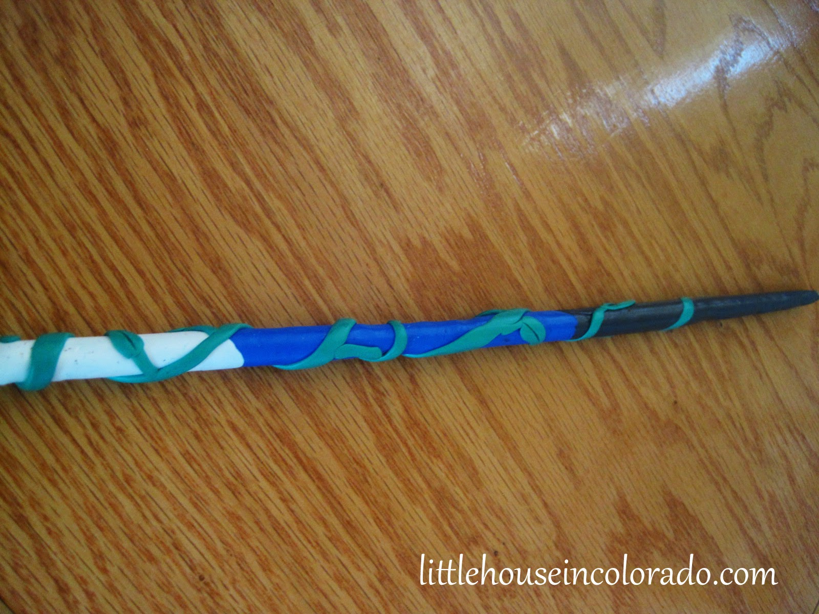 Little house in colorado a harry potter birthday and for Birthday wand