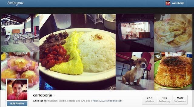 carloborja instagram web profile