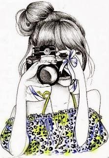 when girl meet camera