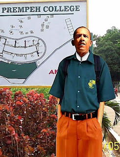 BARACK OBAMA IN PREMPEH UNIFORM