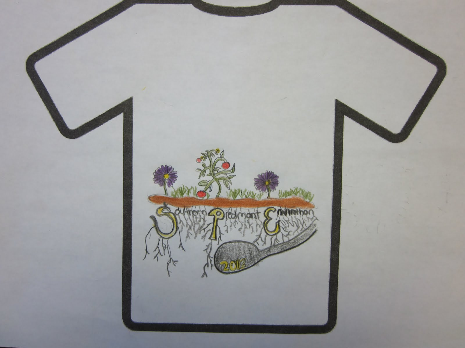 Shirt design examples - Examples Of Student Submissions For The Nc Envirothon T Shirt Design Contest