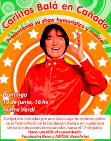 REVIVI EN IMAGENES EL SHOW DE CARLITOS EN CAÑADA DE GOMEZ