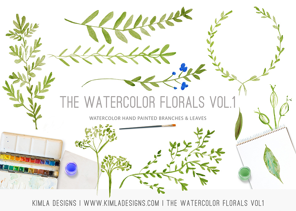 http://kimladesigns.com/collections/design-elements/products/copy-of-watercolor-florals-vol2