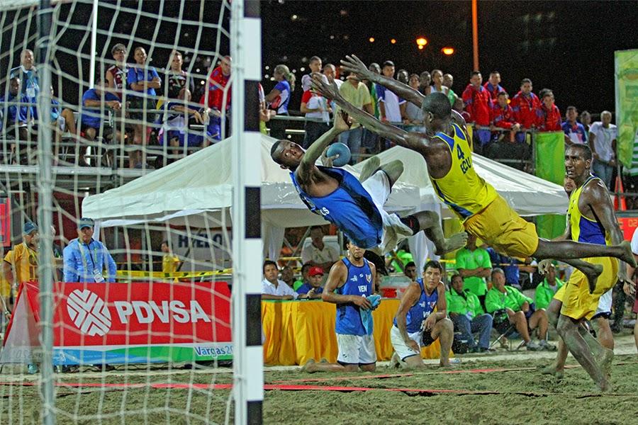 Se conocen las finales del Beach Handball en Vargas 2014 | Mundo Handball