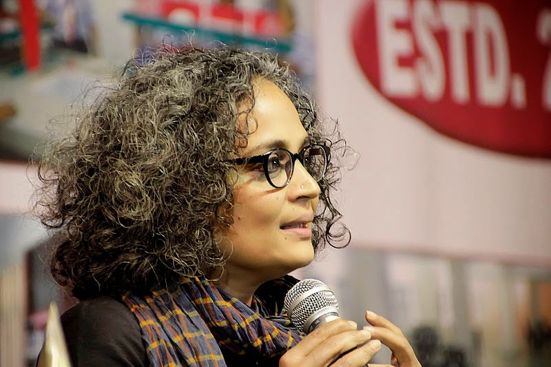 Creative Commons image taken from Wikipedia http://en.wikipedia.org/wiki/File:Arundhati_Roy_,_Man_Booker_Prize_winner.jpg