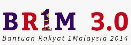 Kemaskini Permohonan Bantuan Rakyat 1Malaysia (BRIM 3.0) 2014 Online