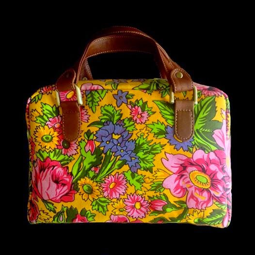 A Floral Screen Printed Bags Collection By Maheen Hussain