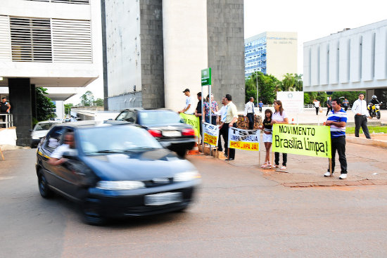 BRASILIA EM CHAMAS