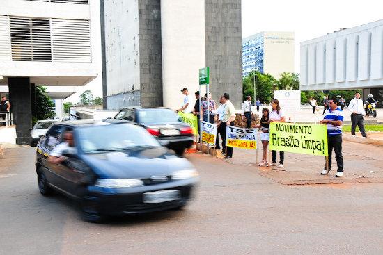 BRASILIA EM CHAMAS