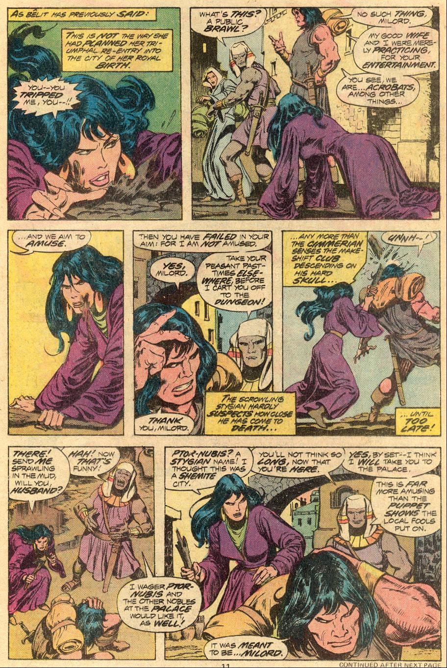 Conan the Barbarian (1970) Issue #72 #84 - English 8