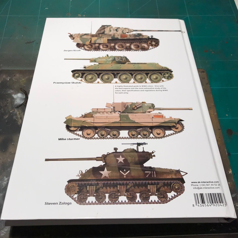 Trench runner dispatch julian conde reviews the book real colors now some of my knowledge of afvs colors comes from panzer colors and other books like the great ak interactive dak color profile guide nvjuhfo Choice Image