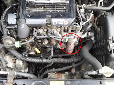 toyota yaris 1.4 d4d egr valve