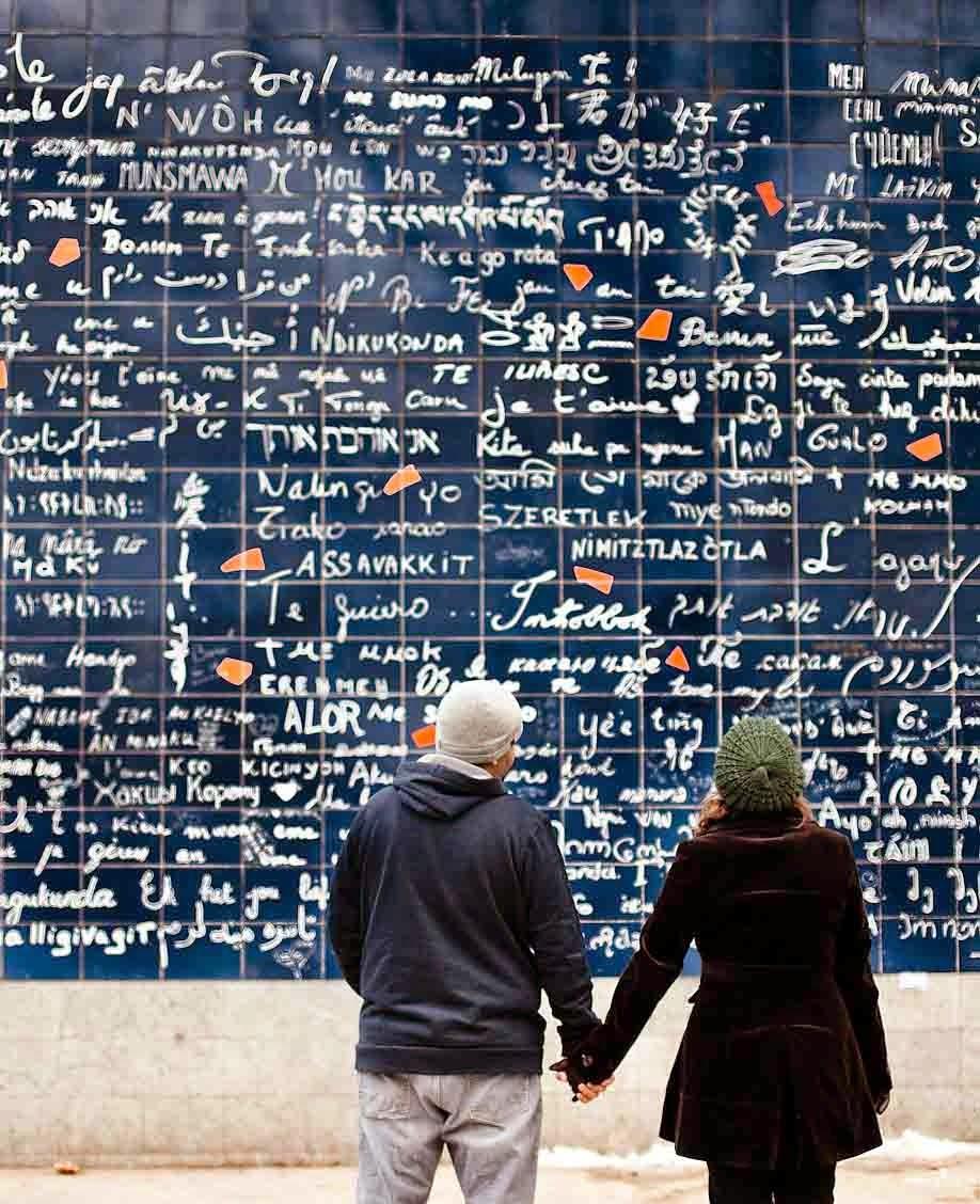 mur des je t'aime serment d'amour