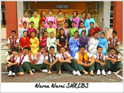 1 Malaysia Pelbagai kaum di SMK Sekolah Menengah Kebangsaan Luar Bandar No.1 Sibu, Sarawak