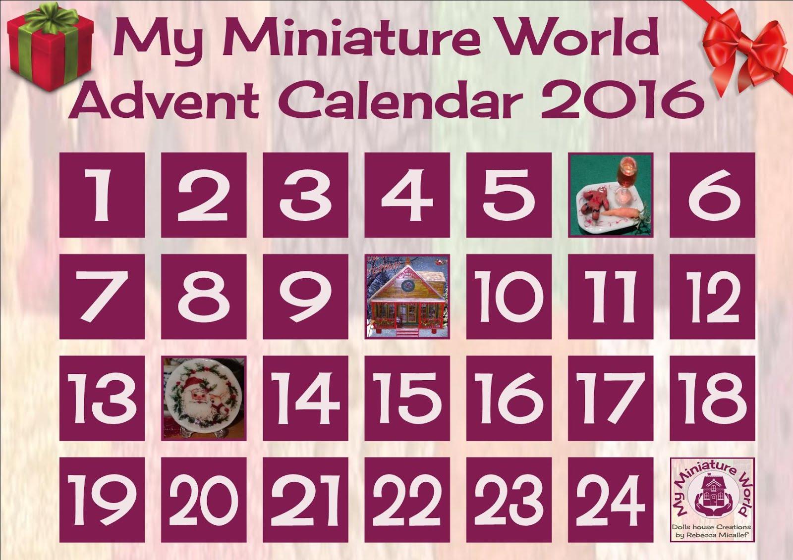 Christmas Advent Calendar 2016