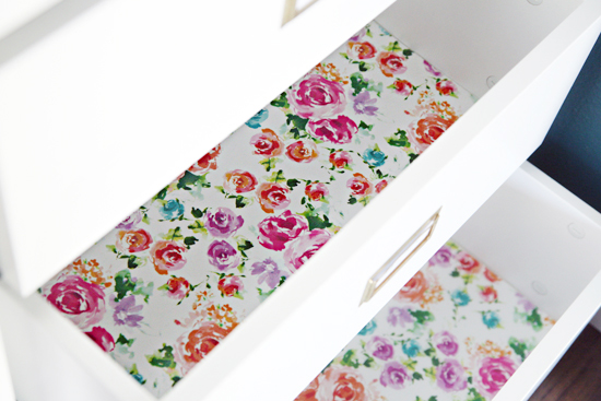 IHeart Organizing: Quick Tip Tuesday: Gift Wrap Drawer Liners