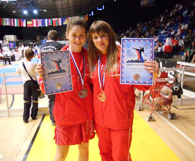 gazeta lubuska zielona góra kickboxing, kickboxing zielona góra, Dominika Gleisner, Kinga Szlachcic,