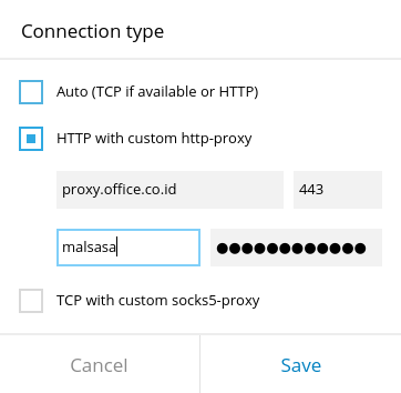 How To Connect Telegram Desktop Behind Proxy and Authentication
