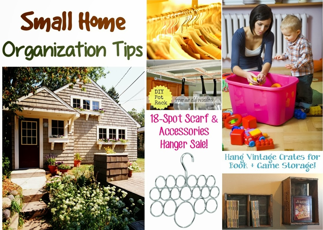 Huge list of small home organization tips diy craft projects - Small house organization tips ...