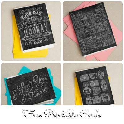 free printable cards and other really cool printable products from caravan shoppe